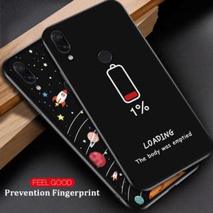 무늬 케이스 실리콘 커플 커버를 들어 샤오 미 Redmi 7 주 7 5 6 8 프로 6A 5 플러스 5A S2 Pocophone F1 쉘 Coque 전화 케이스