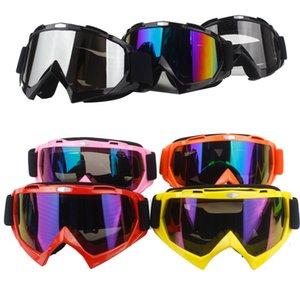 2020 protezione Gears flessibile Croce del casco della maschera di protezione di motocross Occhiali ATV Dirt Bike UTV Eyewear Gear Occhiali