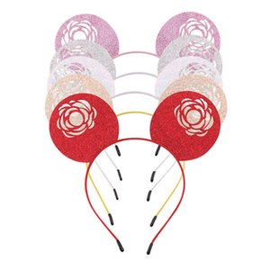 INS Rose Girls Hair Sticks Party kids designer headbands designer head bands baby designer headband girls hair accessories B1126