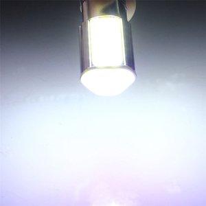 화이트 1156 G18 Ba15s 4 COB LED 5W 회전 신호 후면 라이트 자동차 전구 램프 12V DC