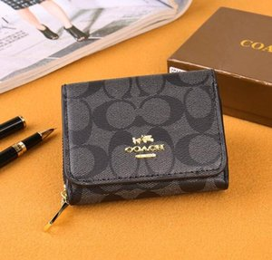 New ladies wallet fashion unique designCoach wallet classic style trend wild bag free shipping