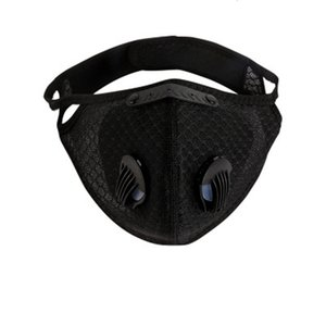 Free DHL Ship!100 1Pcs Breathable Cycling Caps & Masks Face Mouth 12*8Cm Pm2.5 5-Layer ed Activated Carbon Mask QAKAV9