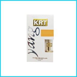 Big Cheif Krt Carts empty Vape Cart 1.0ml Glass Tank Cartridges 510 Ceramic Thick Oil Atomizer Vaporizer glo Ecig Vape DHL free
