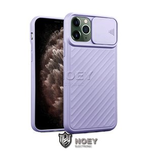 Soft TPU Cellphone Back Shell Cover for iPhone 11 XS MAX 8 Plus Push Camera Protective Shockproof Phone Case in Opp Bag noey