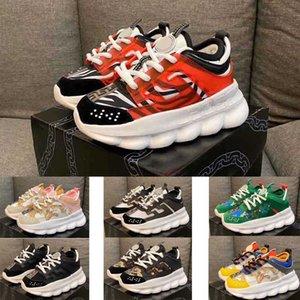 2020 Nom de la marque La chaîne 2Chainz Enfants de réaction Chaussures de course garçon fille sport enfant jeunesse Sneaker taille 26-35