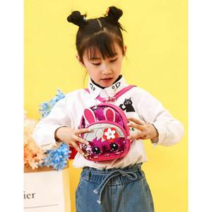 do bebê doces Mochila Escolar Crown lantejoulas Viagem Mini Mochila dos desenhos animados Shoulder coelho Bolsas / POR