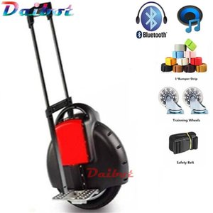 Daibot Electric Hoverboard 14 дюймов Один колеса самобалансировани Скутеры 350W 60V электрический Моноцикл Скутер с ручкой / Bluetooth