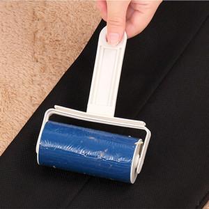 صفائح محمول مثبت قابل للغسل لينت المتداول صوفا شعر الحيوانات الأليفة الملابس جامع منظف الأسطوانة الغبار الماسك مزيل الغبار مثبت DBC DH0789
