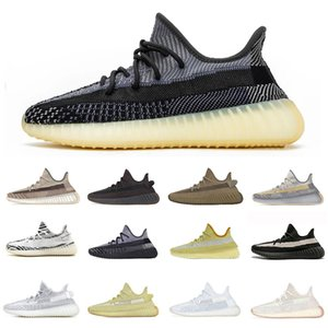Stock X 2020 Desert Sage Earth Cloud White Citrin Kanye West Sports Designer Sneakers Black Reflective Yeshaya Men Women shop5 Shoes 36-46