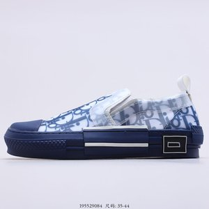 Dior B23 Oblique Slip-on Low Top Sneakers 2020 nueva Slip-en oblicuo zapatillas de deporte Atelier originales super caliente crear una gama completa de la marca nuevo diseño