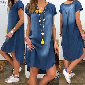 Delle donne Summer Dress Breve Jeans Pantaloni Party Pigiama Body Style Sexy Abbigliamento Street Sunshine Gonna Gonna