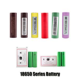 100% de Qualidade Superior HG2 30Q VTC6 3000 mAh INR18650 25R HE2 HE4 2500 mAh VTC5 18650 Bateria Recarregável De Lítio Celular Para Sony Samsung LG Mod