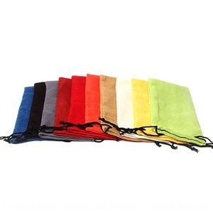 Sun Sun mano miopía gafas mano miopía gafas color de gamuza bolso bolsa de tela personalizada
