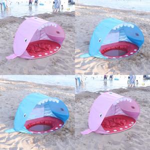 Tenda per capre in fibra di poliestere Tenda per capretto pieghevole per spiaggia per bambini Kids Outdoor Quattro stagioni Giochi di gioco Pieghevole palla 58qs L1