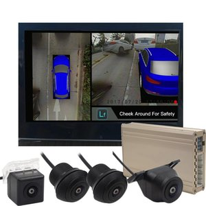 Hot Sale CAN Bus Reference Line Move Following The Steering Wheel Nigh Vision 360 Seamless Surround View DVR With Four Cameras car dvr