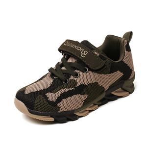 Boy 2019 Yeni Çocuk Sneakers Mesh Spor Nefes Moda İçin Çocuk Ayakkabıları Little Boy Ayakkabı 3 4 5 6 7 8 9 10 11 12 yaşındaki yazdır