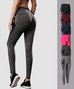 Womens yoga leggings with mesh pockets high stretchy quick dry yoga pants leggings womens gym leggings