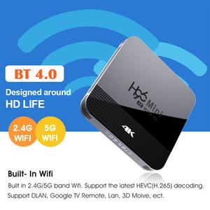 giocatore caldo Dual Band WiFi 2.4G + 5G H96 mini H8 RK3228A Android 9.0 TV Box Bluetooth H96 MAX X96 Mini 2G16G intelligente
