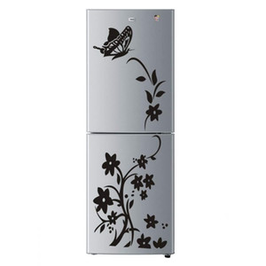Creative butterfly flower refrigerator wallpaper home decoration mural DIY art decal children's room kitchen sticker