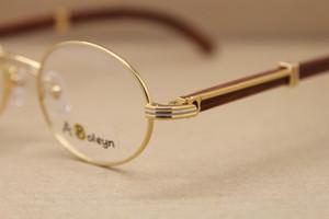 Wholesale-frame eye glasses frames for women or Men wooden glasses frames Frame Size:53-22-135mm