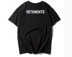 19SS Europe Mode de haute qualité Boîte d'été logo Planche à roulettes T-shirt vetements Top Hommes Femmes Rue coton STAFF T-shirt décontracté T
