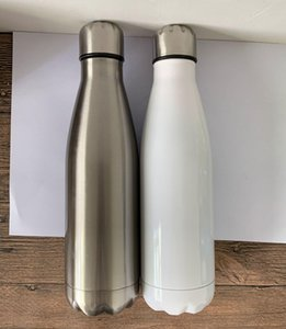 Sublimation 17oz Cola Bottle Stainless Steel Water Bottle Double Wall Insulated Cola Shape for Cold and Warm best for personalise