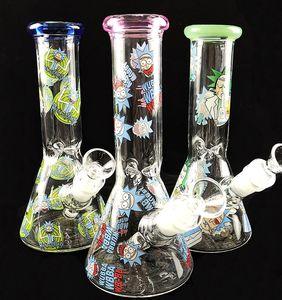 """El más barato tubo de agua de vidrio soplado de vidrio de burbujeo New 8"""" pulgadas de cristal bong de riego de aguas Tubos Downstem mano nuevo diseño"""