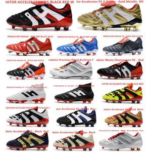 Hot Predator 19+ 19,1 FG Paul Pogba Season 6 6ª código de criptografia Homens Meninos Futebol Futebol Shoes 19 + x chuteiras Botas barato 39-45