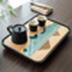 TANGPIN plastics and bamboo tea trays tea table handmade serving tray kung fu tea accessories