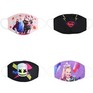 La máscara de cara del partido Maks Marvel Los niños de Sweet Marvel Spiderman Niños congelado esponja anti-polvo Maks de protección para las muchachas de los niños de la cara