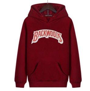 20FW Mens Hoodie Designer Felpa Backwoods lettere stampate di Hip Hop di lusso manica lunga Pullover sweatershirt S-4XL