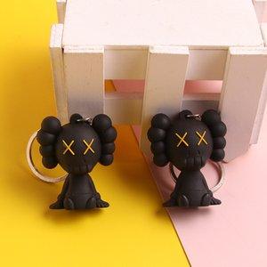 KAWS Sesame Street Schlüsselanhänger Puppe PVC weiche Plastikbeutel Anhänger Auto Schlüsselanhänger