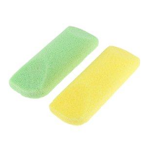 2 ملفات القدم حزمة الحجر الكالس الجلد الميت مزيل الغسيل العناية بالأقدام أداة لون عشوائي