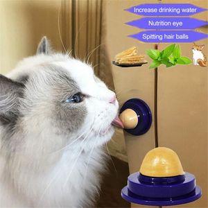 Santé chat cataire sucre chats Snacks Lèche bonbons Lèche solide nutrition boule d'énergie Jouets Kitten Pet Products Cat