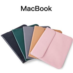 Laptop pelle PU di alta qualità per MacBook Air Pro 11 12 13 15,6 pollici laptop portatili di copertura