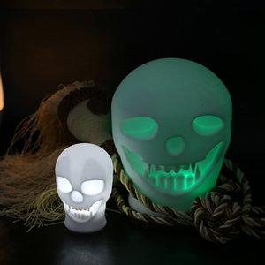 BRELONG 1 pc nueva luz de noche de Halloween táctil color cambiante lámpara de mesa luz LED faro luz de noche