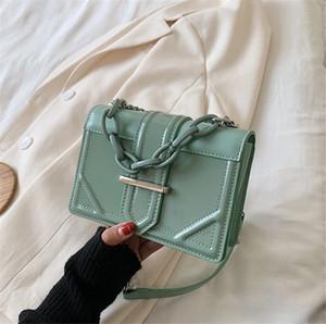 Pequeño bolso de las mujeres Nuevo una sola cadena del bolso de hombro a través del pequeño bolso de la plaza PH-CFY20051944