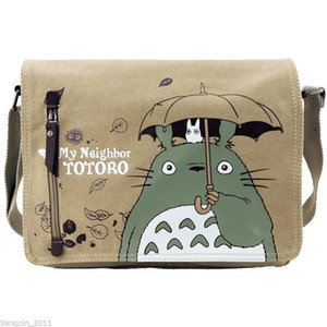 2017 Anime Mon Voisin Totoro Canvas Messenger Sac À Bandoulière Cartable Nouveau