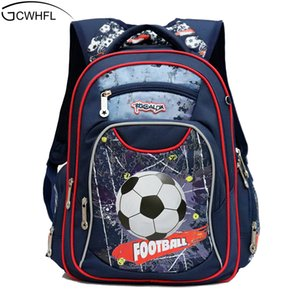 Gcwhfl الموضة العظام أطفال حقائب مدرسية للبنين حقيبة كيد للماء الظهر الابتدائية الأطفال الصف 1-3 Y19051701