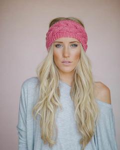 Örgülü Kafa Örme İplik Saç Bandı Kulak Koruma Kafa Kapak Elastik El Yapımı Saç Aksesuarları Kafa Bandı