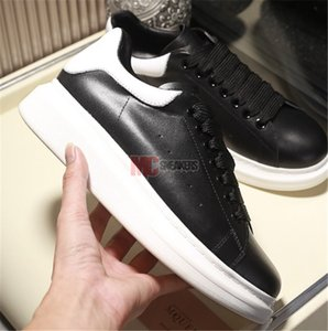 2019 Femmes Hommes Black Velvet Chaussures Chaussures Belle plateforme Sneakers Casual Chaussures en cuir Couleurs solides Robe Chaussures Taille 36-45