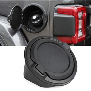 Réservoir voiture noire carburant Cap non Locking Décoration Pour Jeep Wrangler JL 2018+ haute qualité Auto Accessoires Extérieur