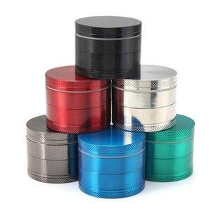 Sharp Stone herb metal grinder SharpStone 4 parts Hard top tobacco Grinders Diameter 40mm 50mm 55mm 63mm 6 colors grinder tobacco