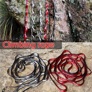 Climbing Rope Yoga Stretch Band Mountain Outdoor High Strength Polyester Swing Camping Hammock Strap Handicrafts Explore