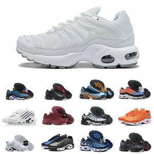 Zapatos de ventas original Tn barato de malla transpirable Corredor Negro Blanco Azul Zapatos Ultra Triple Hombres Moda Tns Requin Trainer Senderismo Deportes