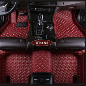 Tappetini per auto personalizzati in forma Subaru Forester Legacy Outback Tribeca XV BRZ 3D Car-styling Heavy Duty Tutto meteo tappeto
