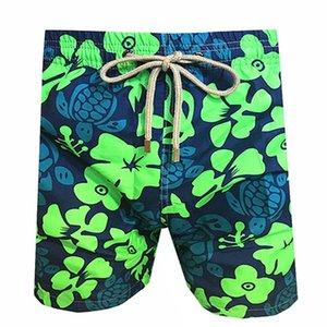 Los hombres de baño Vilebre herringbones TORTUGAS más nuevo verano ocasional pantalones cortos de los hombres de moda de estilo para hombre Pantalones cortos Pantalones cortos bermudas de playa 50292017
