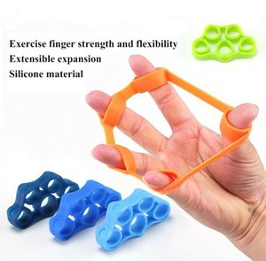 ht Finger Gripper Strength Trainer Resistance Bands Hand Grip Wrist Trainer Yoga Stretcher Wrist Rock Exercise Fitness Equipment