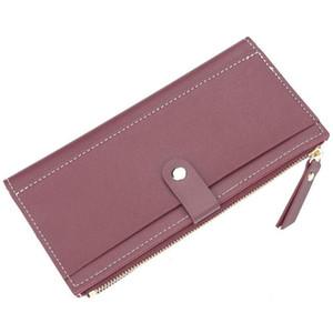 Women's Wallet 2019 multi-color Long PU Wallet For Women Wallets Purse Money Bag
