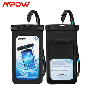 2Pcs lot Mpow PA096 Snowproof Phone bag+Arm band 2 in 1 IPX8 PVC+ABS Waterproof Bag Case For 4-6'' Phone For iPhone XS XR 8 Plus